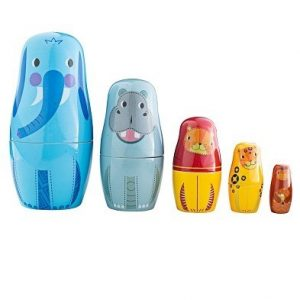 bigjigs jungle animals russian dolls by tidlo