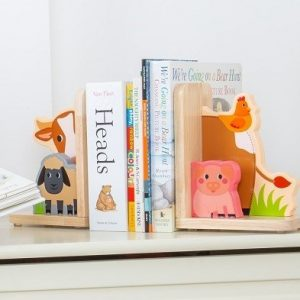Bigjigs Toys Farm Bookends