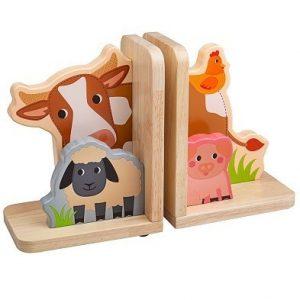 Bigjigs Toys Farm Bookends