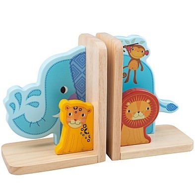 tidlo jungle animals bookends