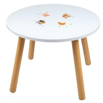 farm animal table by Tidlo