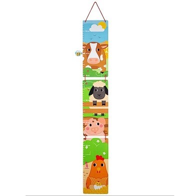 tidlo wooden farm height chart
