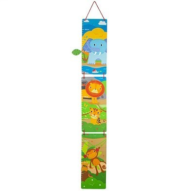 tidlo wooden jungle height chart