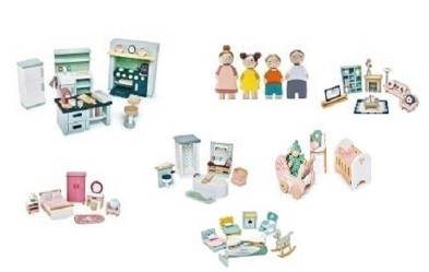 dolls house furniture set