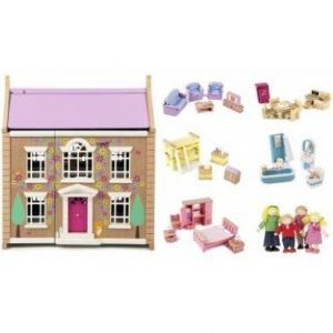 Tidlington House dolls house bundle set