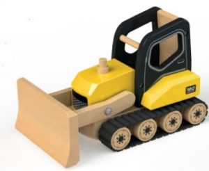 Wooden Bulldozer by Tidlo