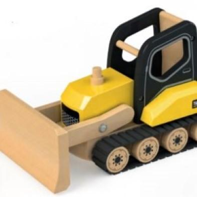 Wooden Bulldozer by Tidlo