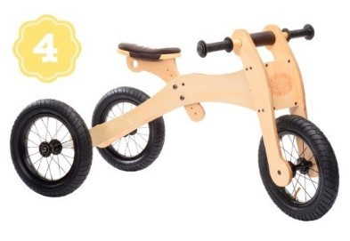Wooden Try bike