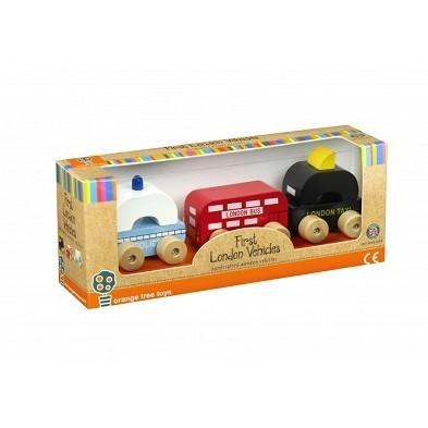 london vehicles set of 3 by orange tree toys boxed