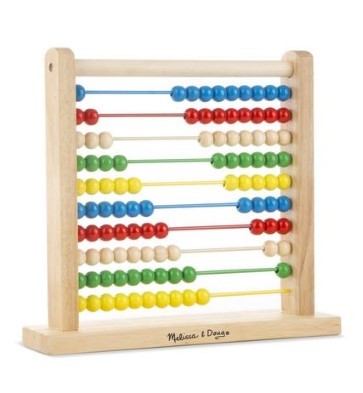 wooden abacus by melissa and doug