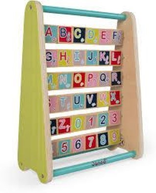 Baby Forest ABC Wooden Alphabet Abacus